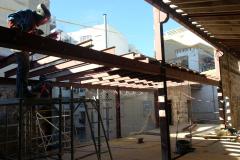Sustitucion estructura construccion por estructura metalica