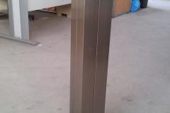 Pie escultura inox 316 satinado