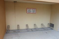 Parking para bicicletas en acero galvanizado