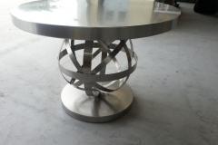 Mesa centro diseño inox 304 satinado