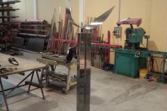 Escultura inox 316 satinado