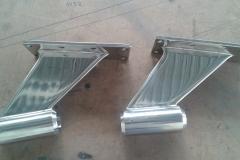 Colas para eje turbina motor en acero inox 316 brillante