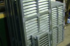 Persiana acero galvanizado troqueladas fabricacion propia